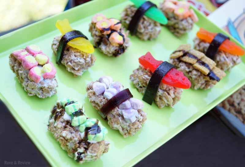 Cereal sushi