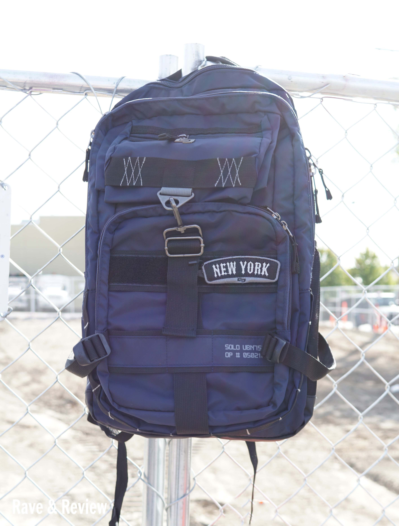 Solo backpack hanging