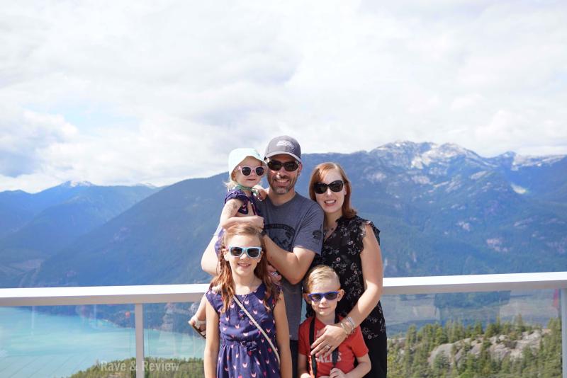 Family in Squamish Sea to Sky Gondola
