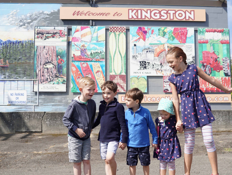 Kids in Kingston