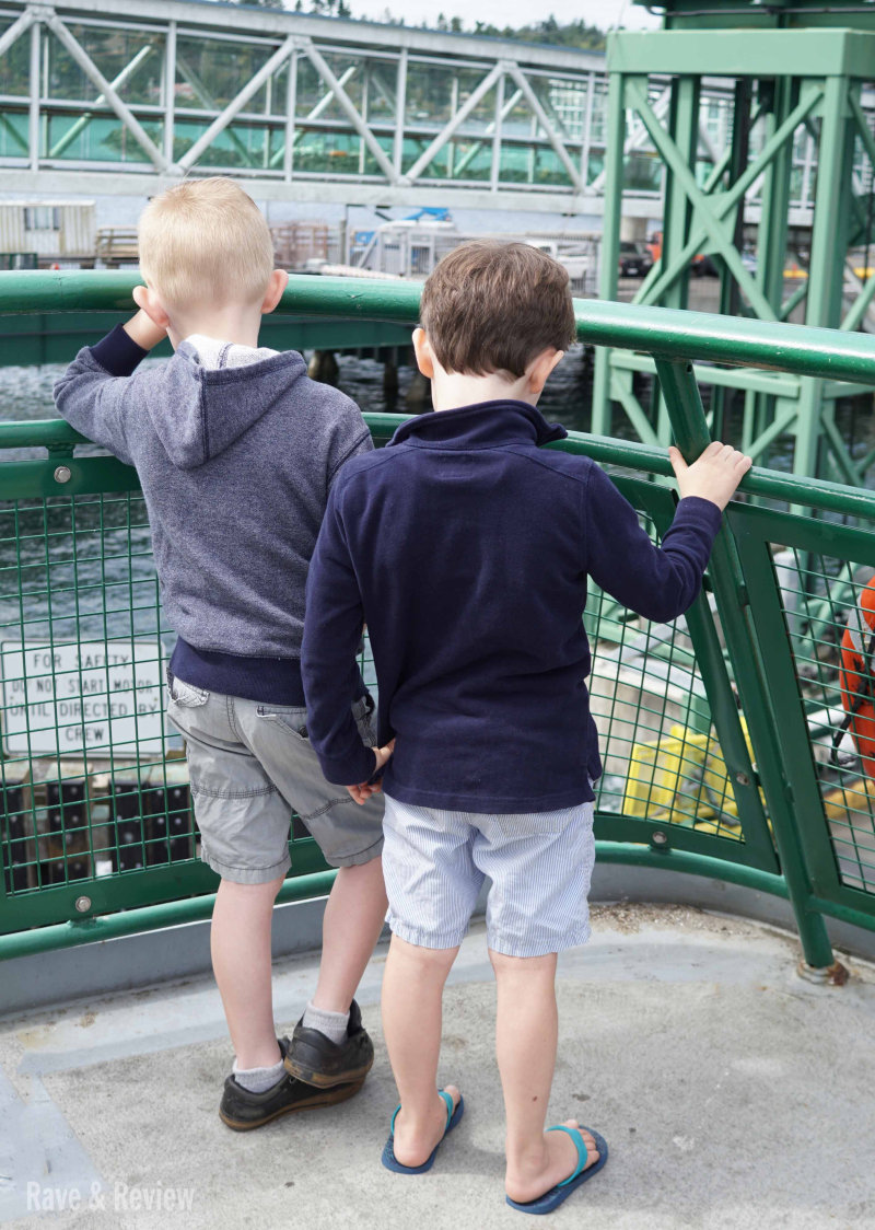 Boys on a ferry