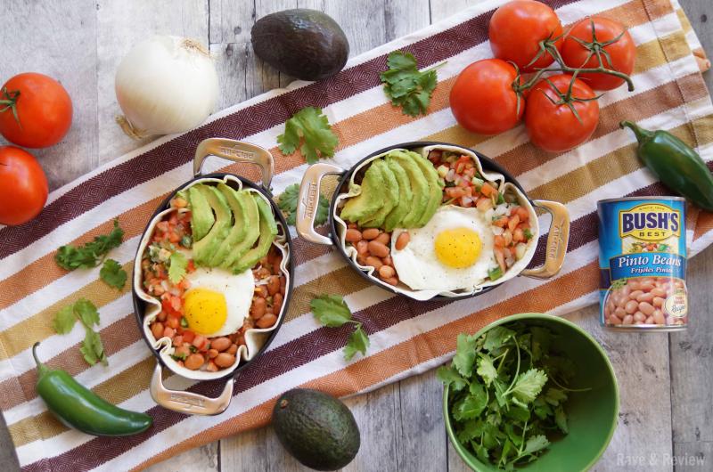 Huevos Rancheros Bush's Beans