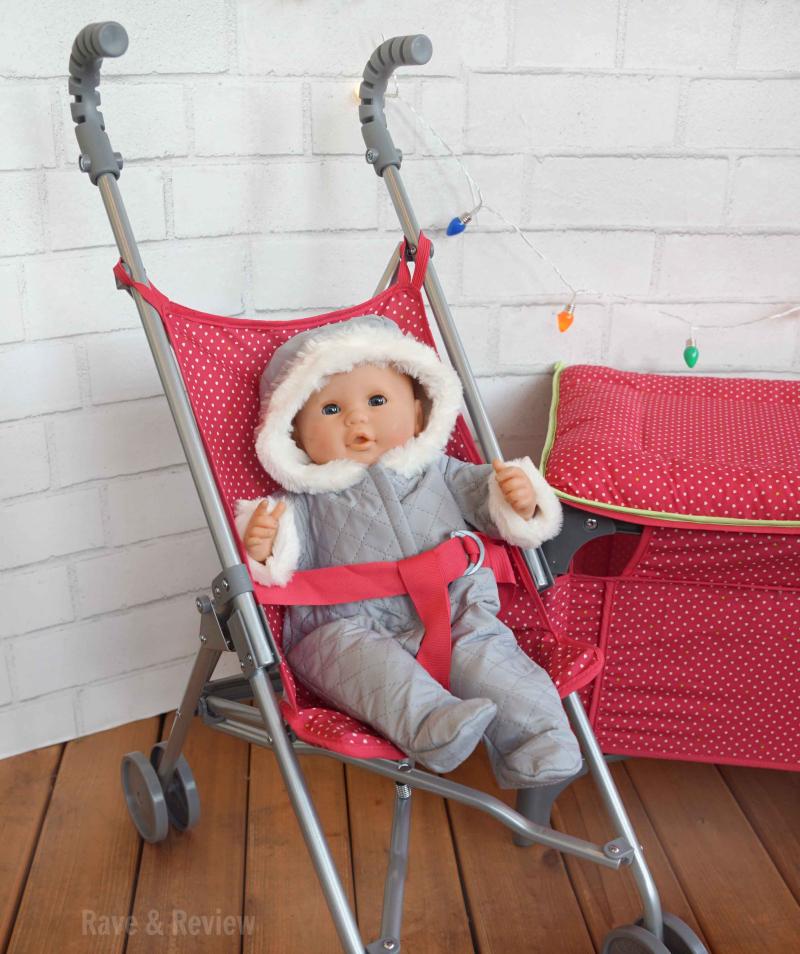 Corolle baby in stroller
