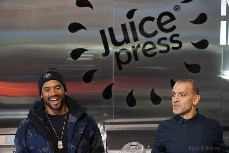 Juice Press Russell Wilson