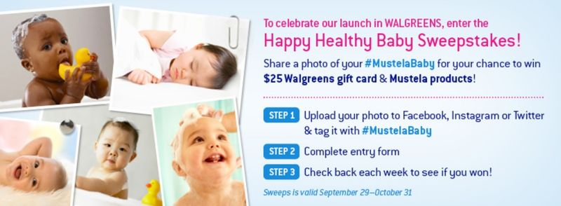 Happy Healthy Baby Sweepstakes