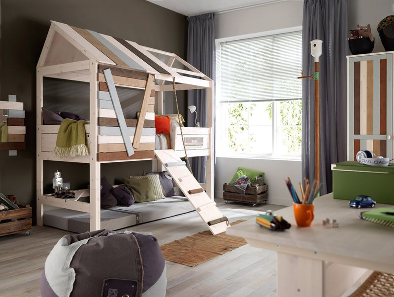 Cuckooland_Lifetime_Childrens Tree House Cabin  Bed_Lifestyle_LR