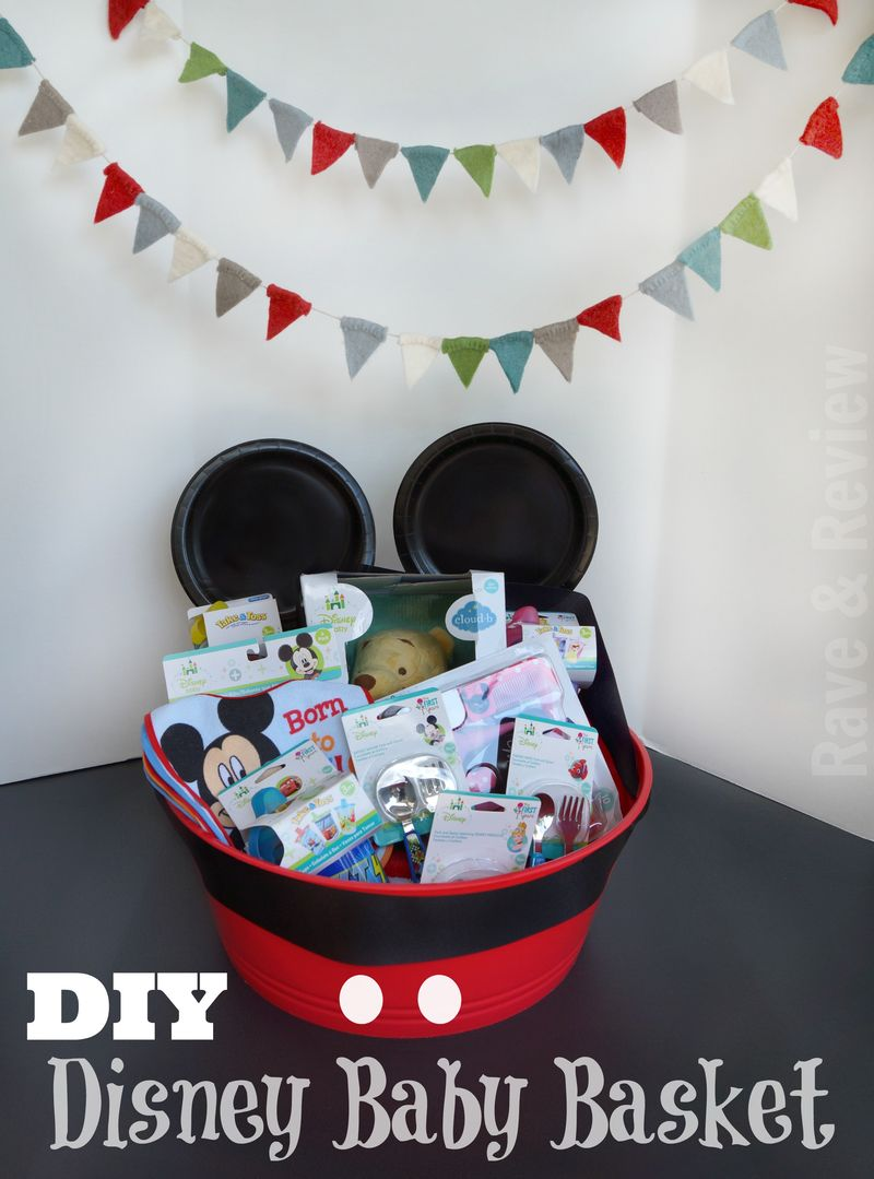 DIY Disney Baby Basket