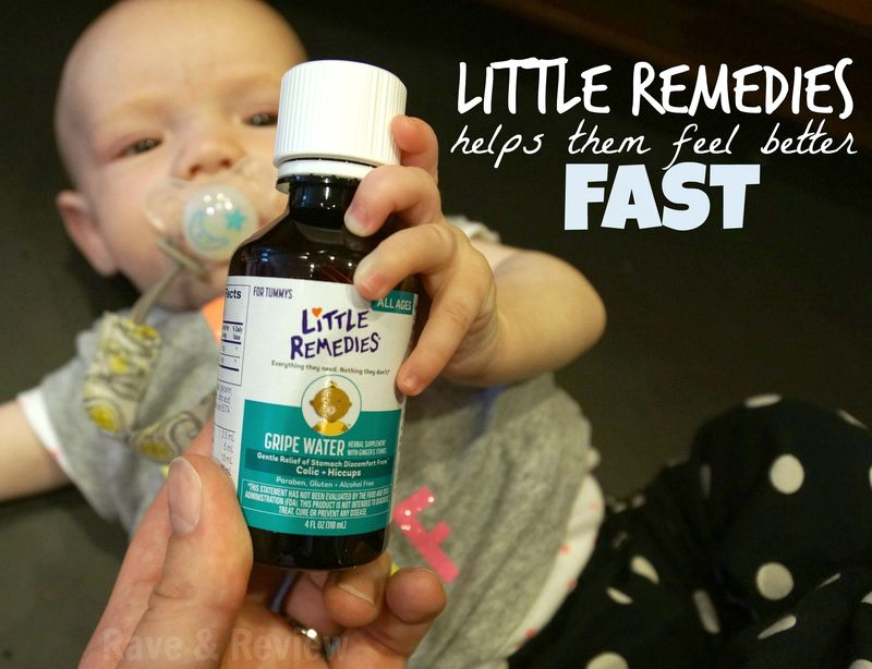 Little Remedies helps them feel better fast