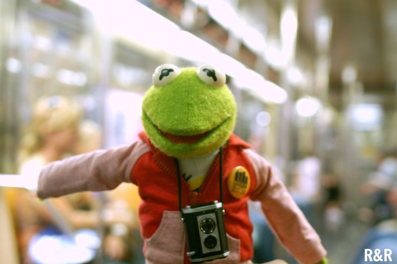 Kermit with AG accessories
