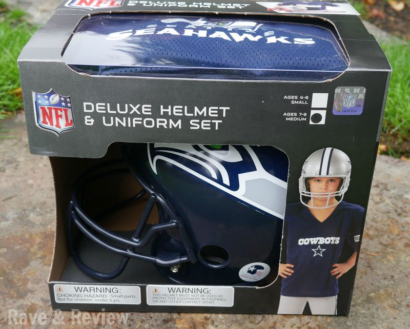NFL Deluxe Helmet and Uniform Set