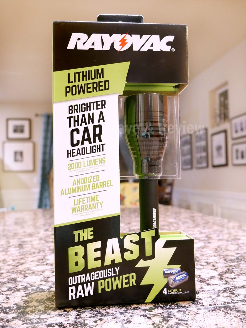 Rayovac The Beast flashlight