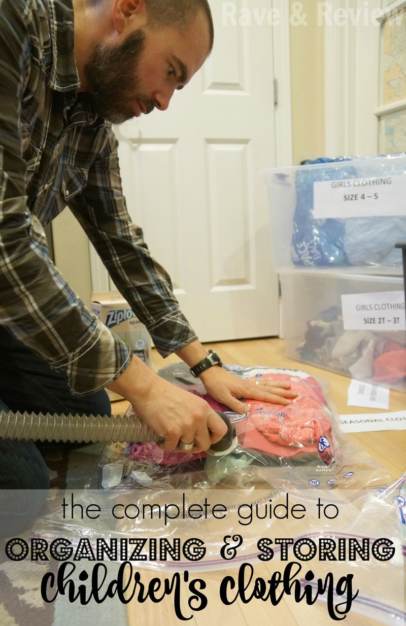 The Complete Guide to Organizing and Storing Children's Clothing
