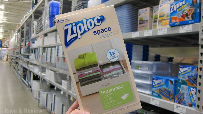 Ziploc Space Bag at Lowe's