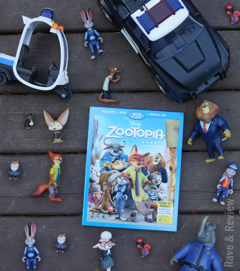 Zooptopia movie and characters