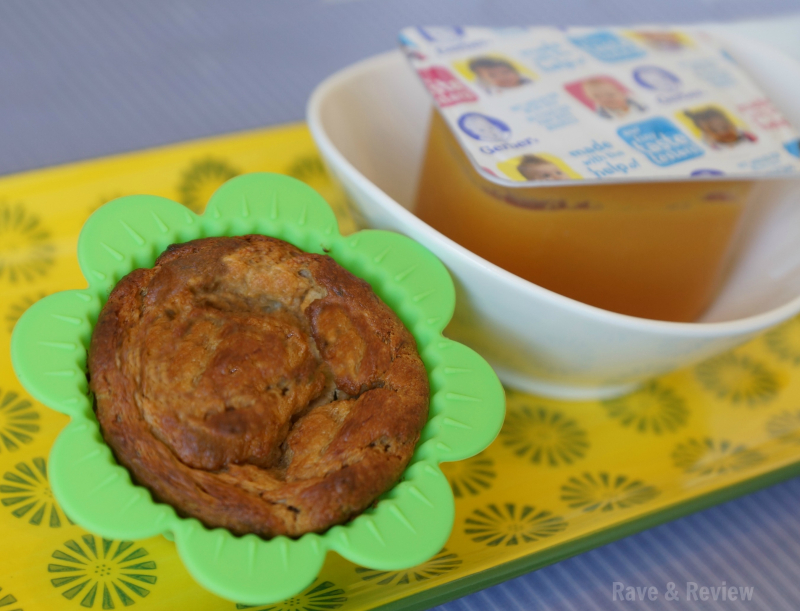 Oatmeal Banana Muffins with Gerber
