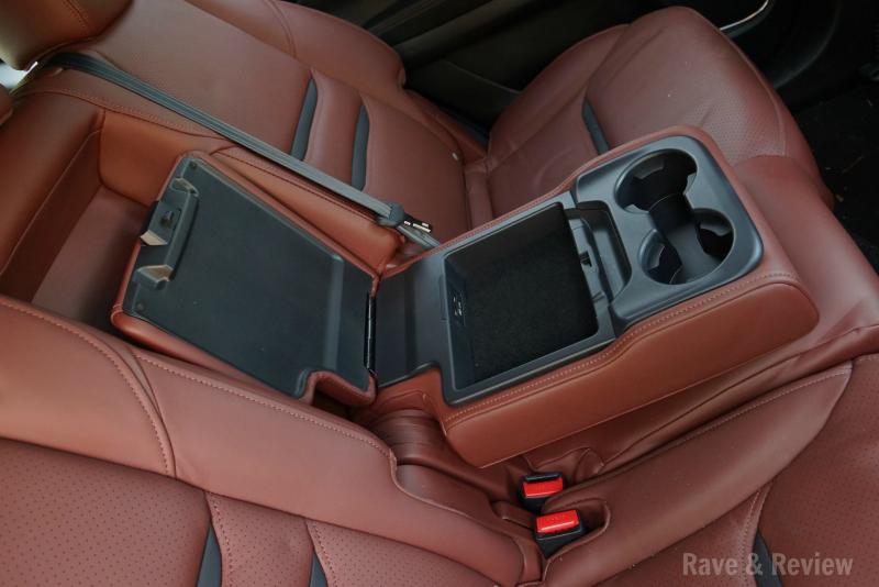 Mazda CX9 back seat