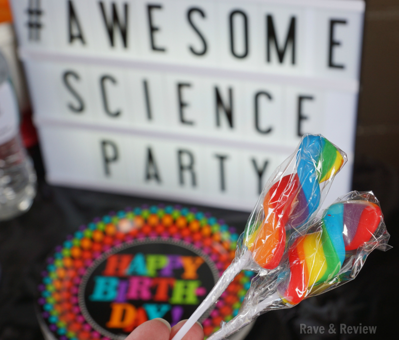 Awesome Science Party sign
