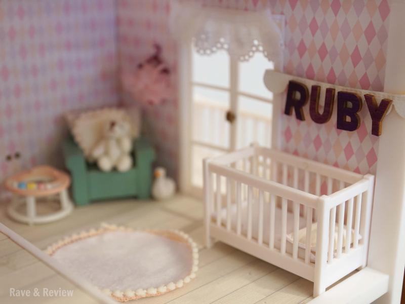 Lundby baby nursery