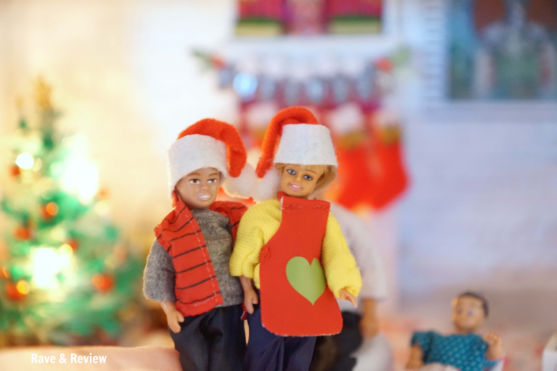 Lundby kids at Christmas