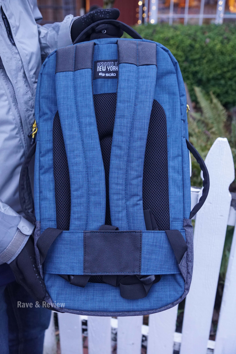Solo Velocity padded backpack