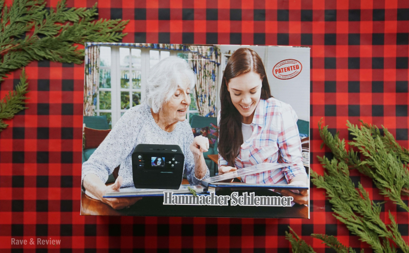 Hammacher Photo Scanner Box