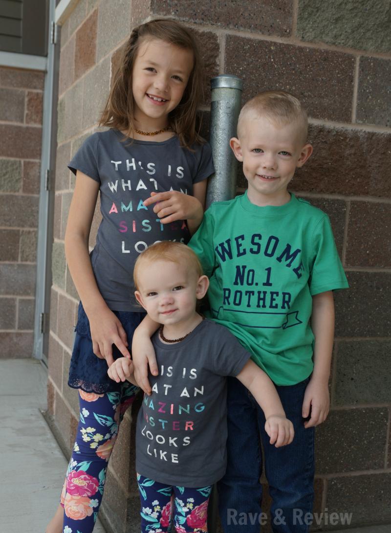 Carter's Sibling Shirts