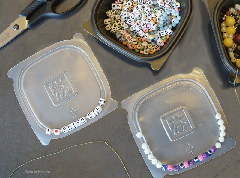 Chick Fil A bead containers