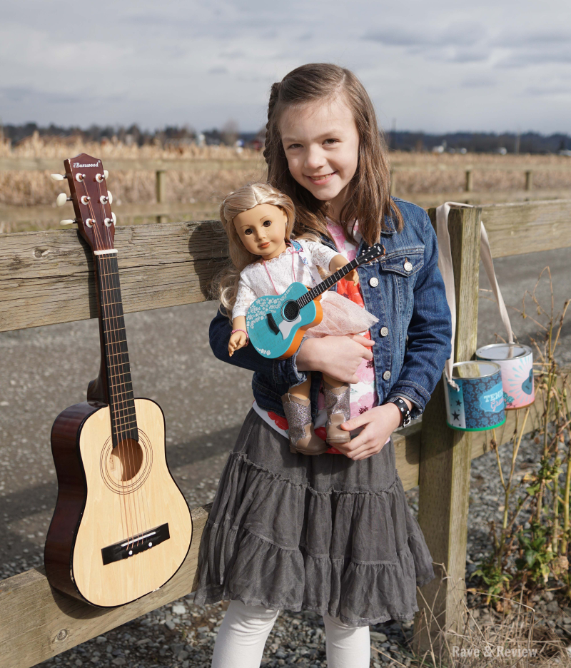 American Girl Tenney with Guitar
