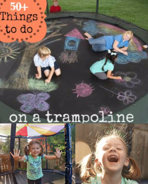 50+ Fun Things To Do On A JumpSport Trampoline