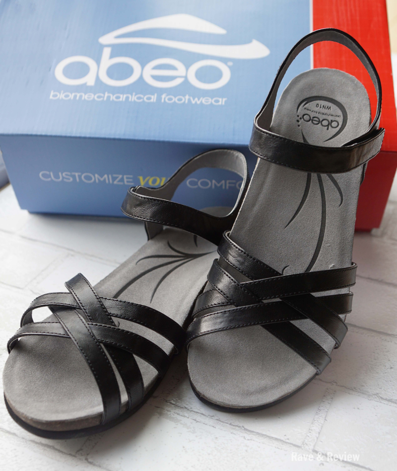 ABEO shoes by box 2