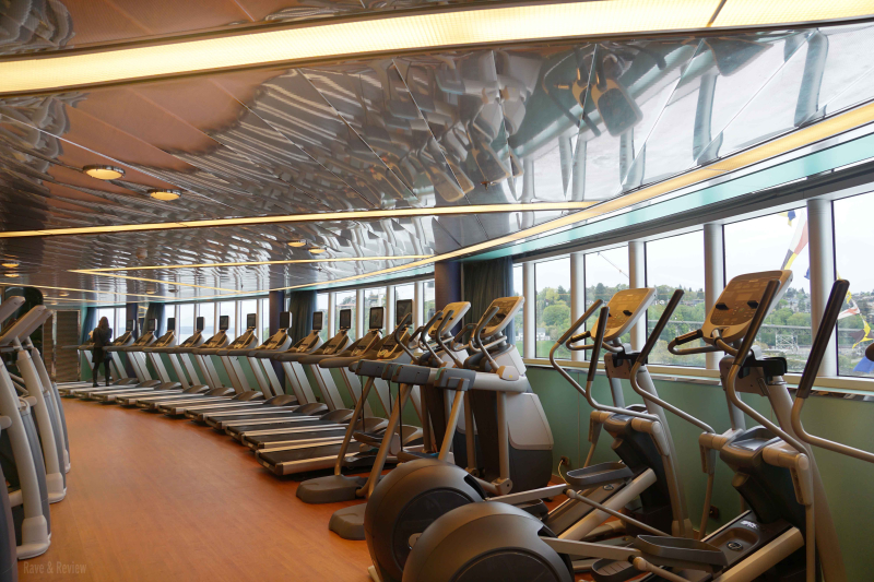 Holland America fitness center