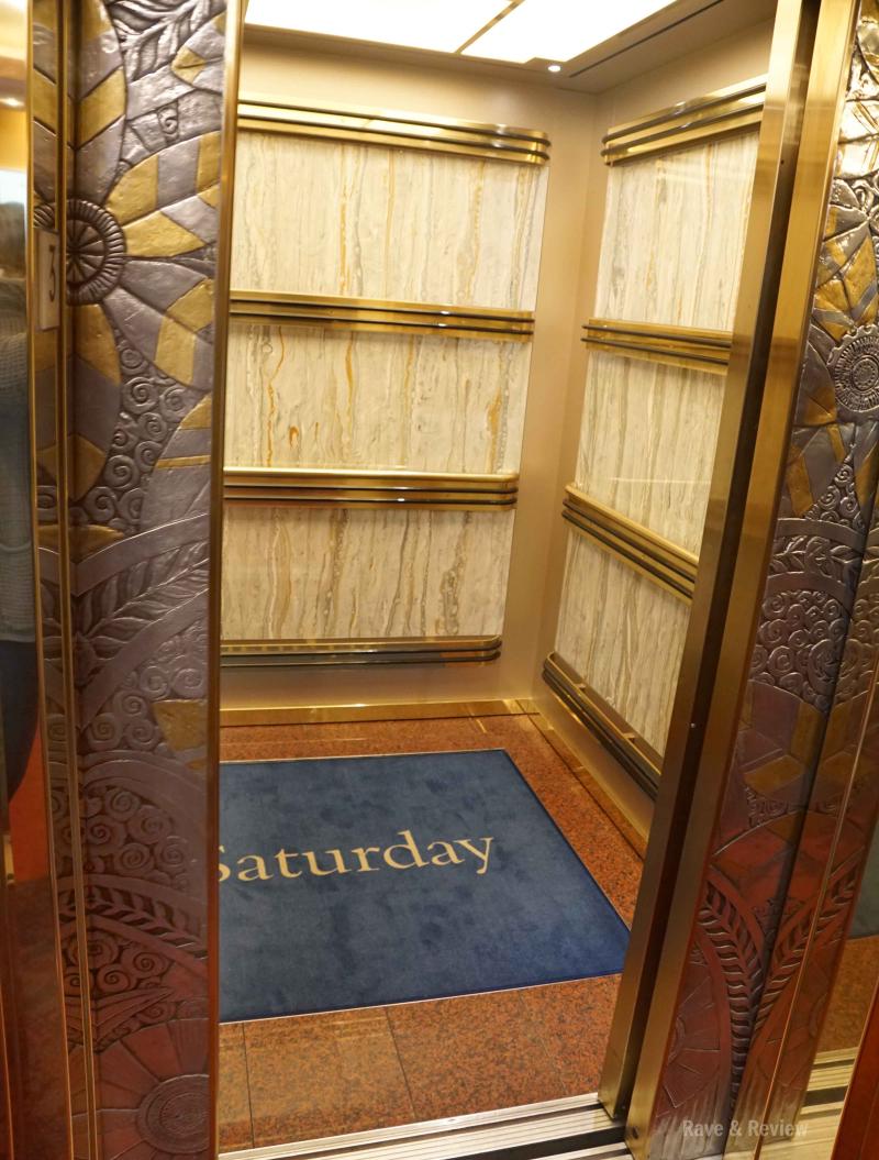 Holland America elevator