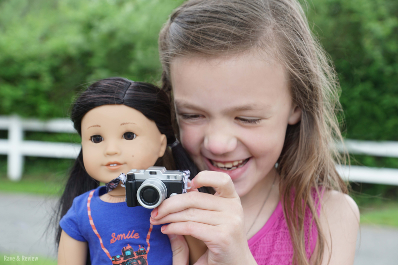 American Girl Z with camera