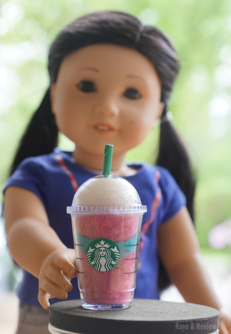 American Girl Z with Starbucks
