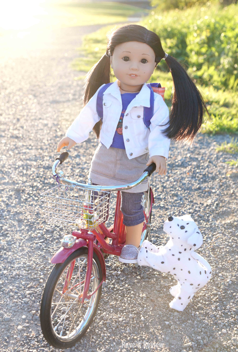 Z Yang riding bike