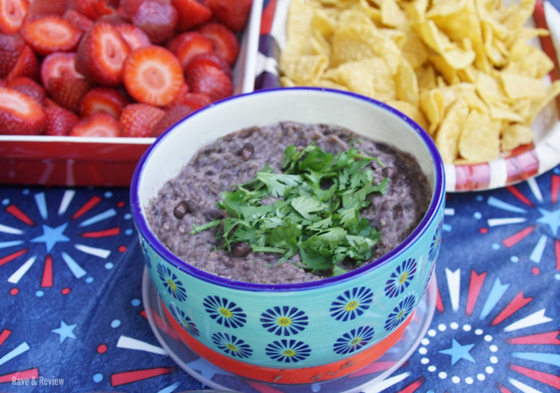 Bush's Bean dip at party