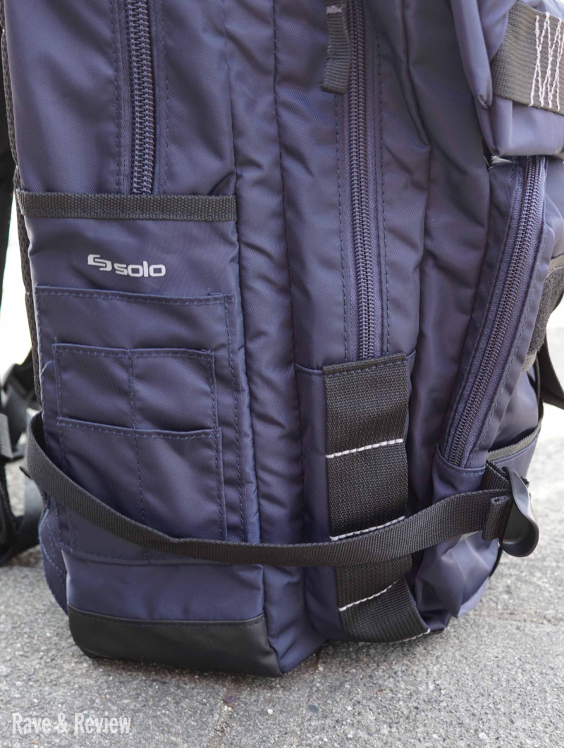Solo backpack side