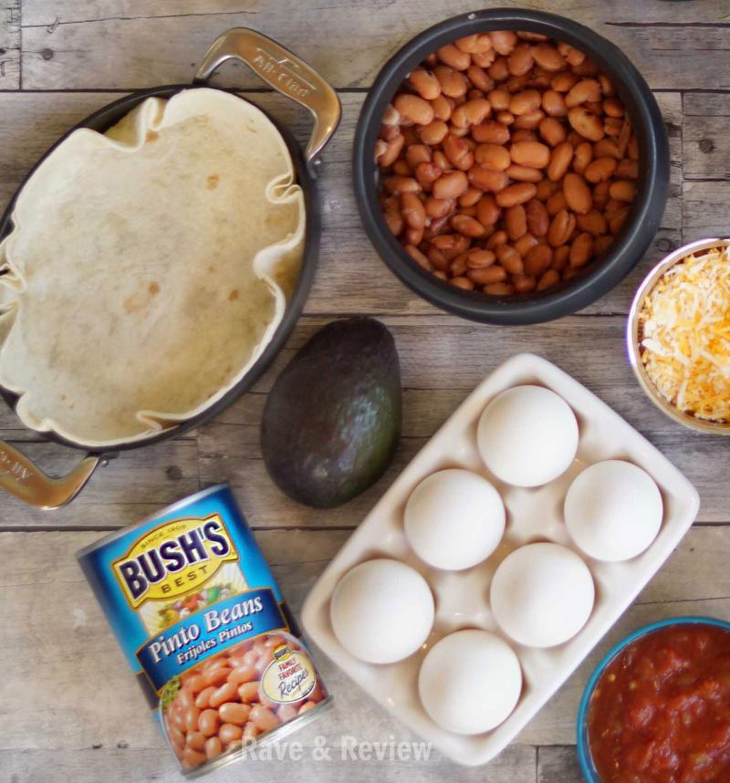 Huevos Rancheros tortilla