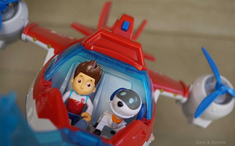Robodog in the Air Patroller
