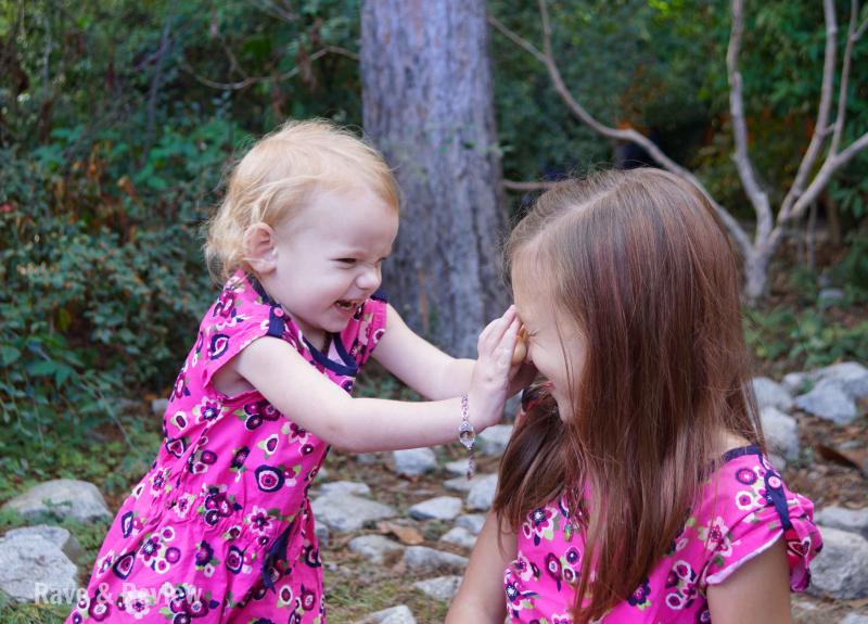 Matching Girls at zoo 8