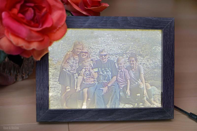Lithofy.me frame lighted
