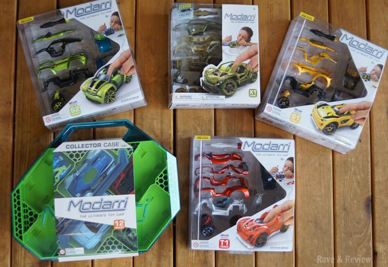 Modarri cars in boxes