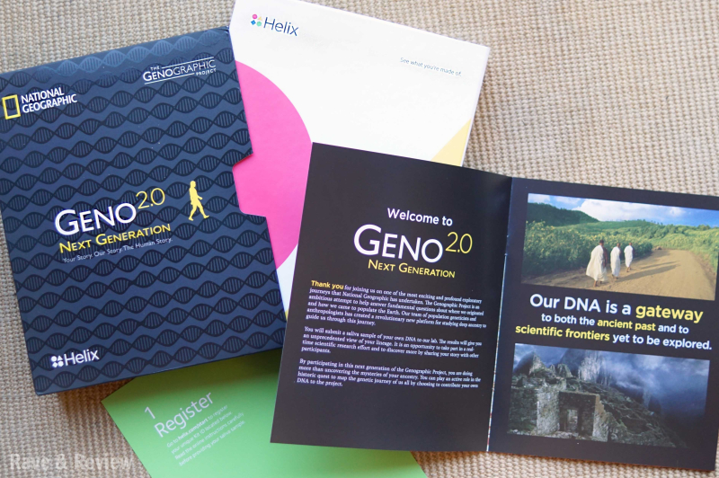 Helix National Geographic DNA kit