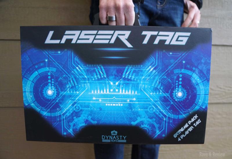 Dynasty Toys Laser Tag in box