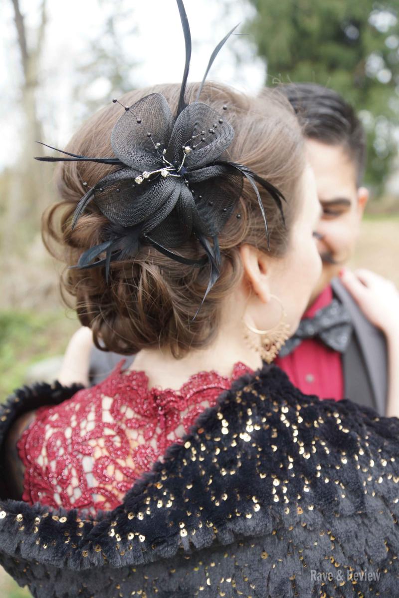 Hollywood Wedding hair