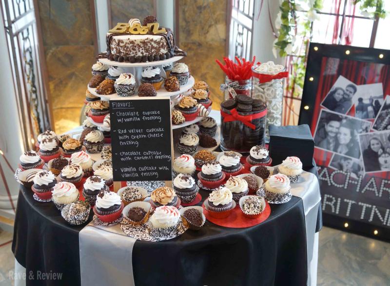 Hollywood Wedding cakes and treats