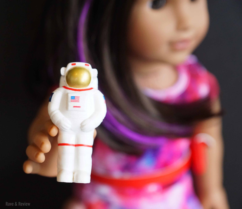 Luciana with spaceman