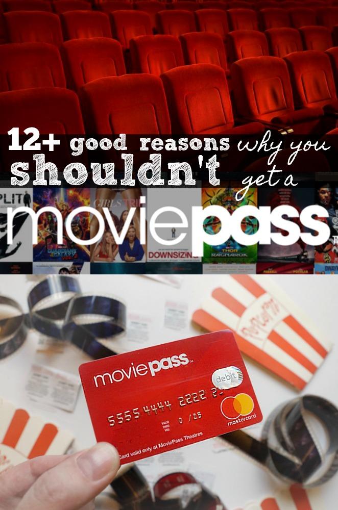 12 good reasons why you shouldn't get a MoviePass membership
