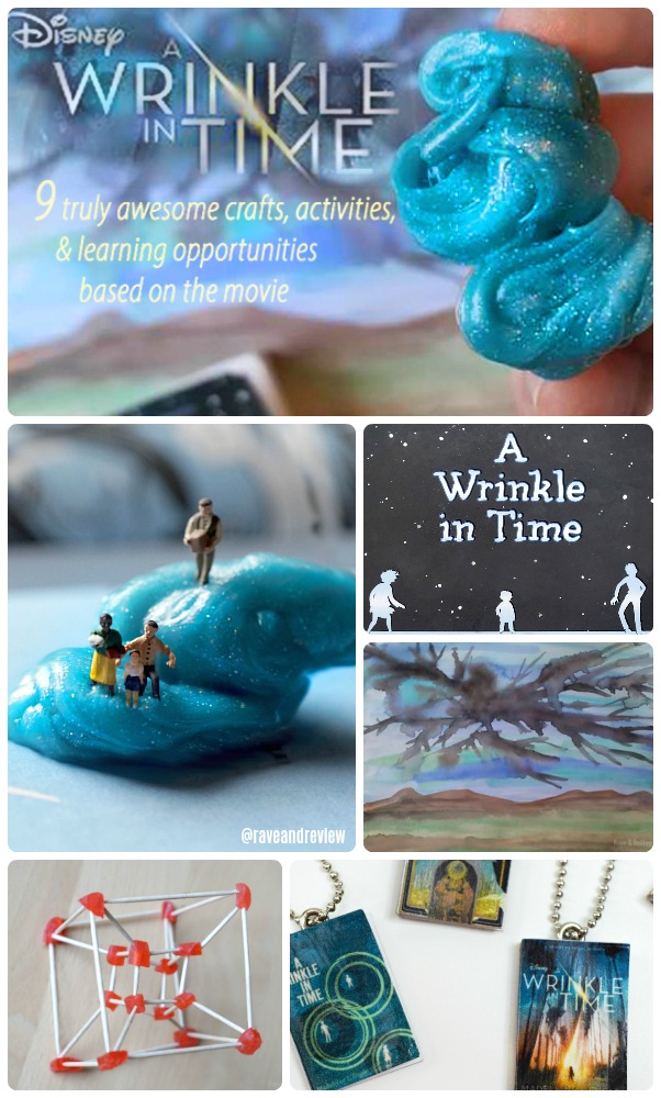A Wrinkle In Time activities  crafts  and learning opportunities based on the book and movie