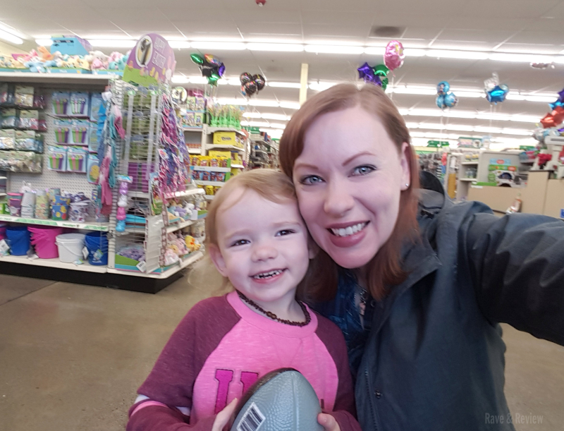 Dollar Store with my kiddo